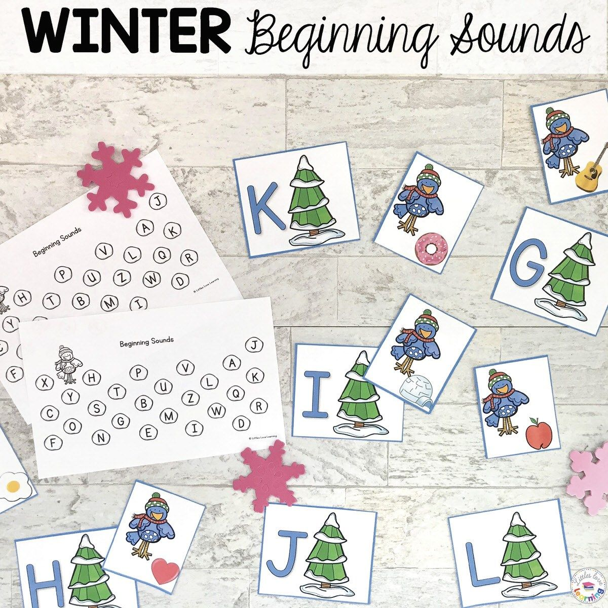 The Best Winter Preschool Activities For Math Amp Literacy