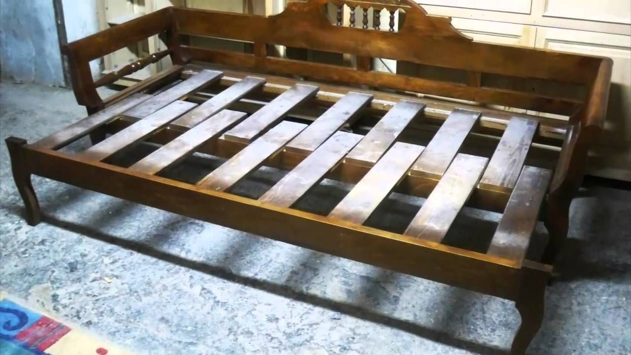 Old Couch Beds Youtube Diy Sofa Bed Wooden Sofa Rv Sofa Bed