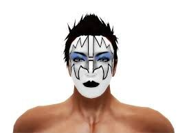 Bildresultat For Ace Frehley Makeup Face Makeup Makeup