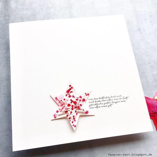 papierzart 3d stern weihnachtsstern weihnachtskarte alexandra renke papierzart pinterest. Black Bedroom Furniture Sets. Home Design Ideas