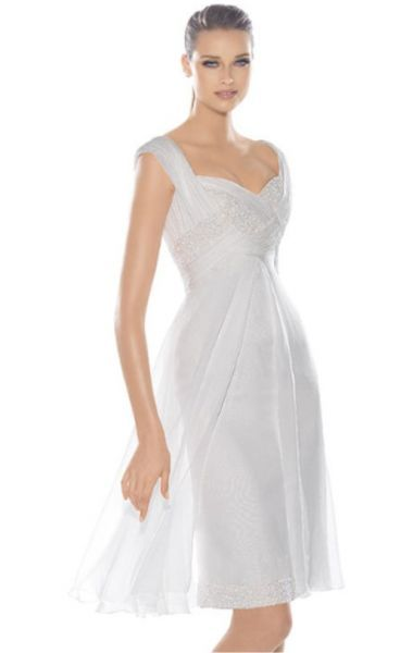 Vestidos de fiesta cortos para matrimonio civil