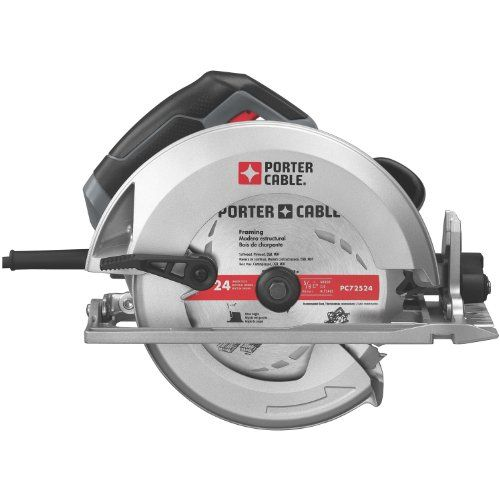 Porter Cable Pc15tcsmk 7 1 4 Inch 15 Amp Heavy Duty Circular Saw Porter Cable Http Www Amazon Com Dp B00 Porter Cable Circular Saw Best Cordless Circular Saw