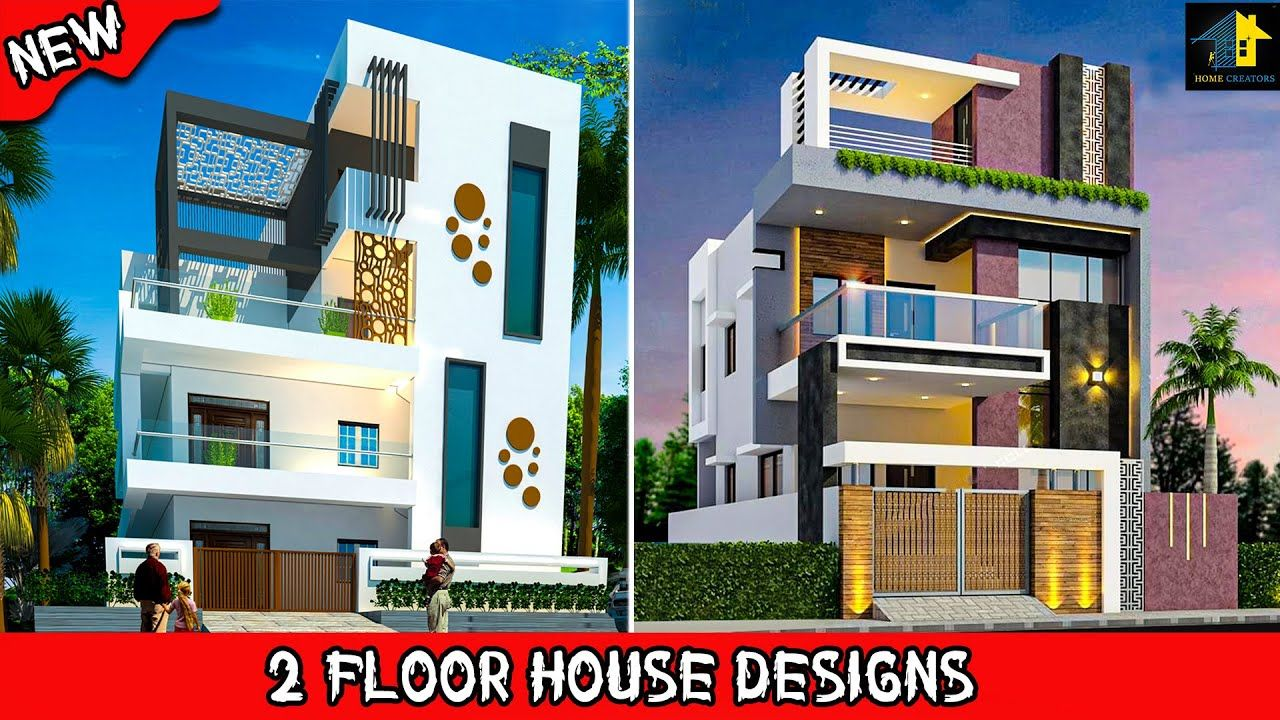 Best 25 Front Elevation For Double Floor House 2 Floor House Designs In 2020 Double Story House House Design Small House Elevation