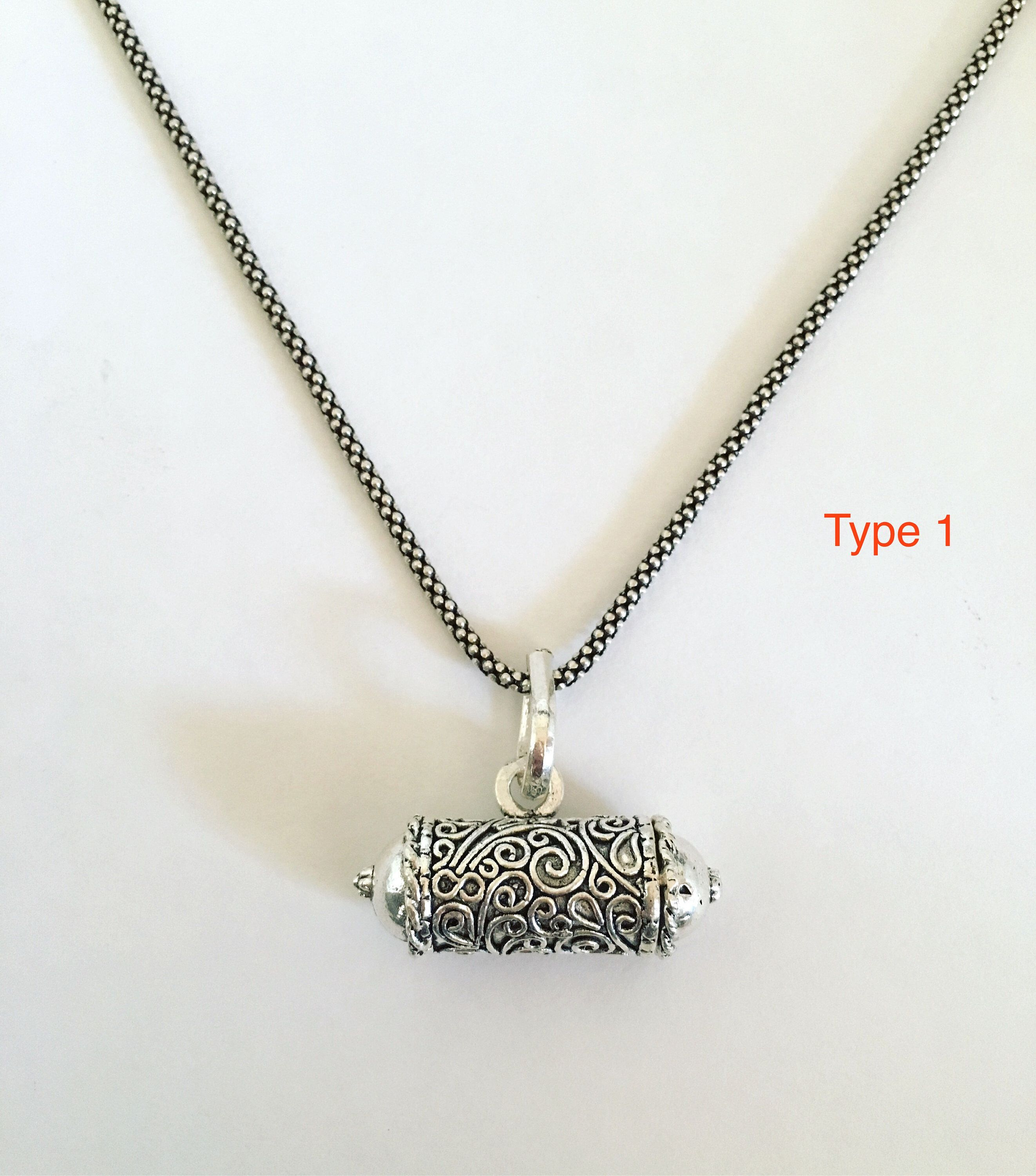 05f9c46276cd1f Excited to share the latest addition to my #etsy shop: Locket charm silver,  antique india kavach taweez sterling silver prayer box necklace, india  locket ...