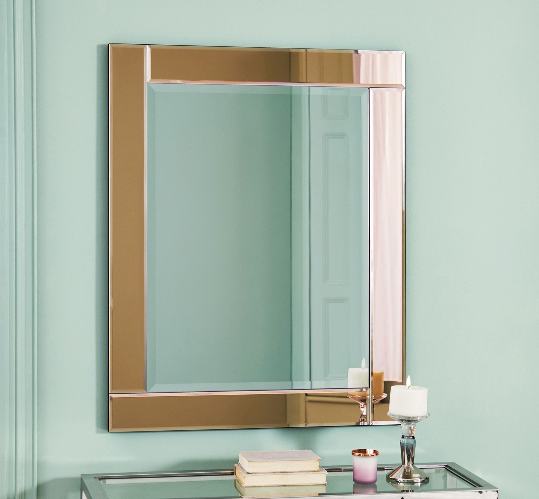 Buy Rose Gold Framed Mirror From The Next Uk Online