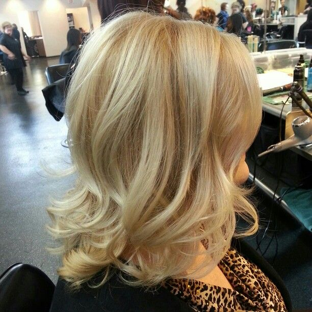 Blonde color correction! All over highlights and bumped base. Hair ...