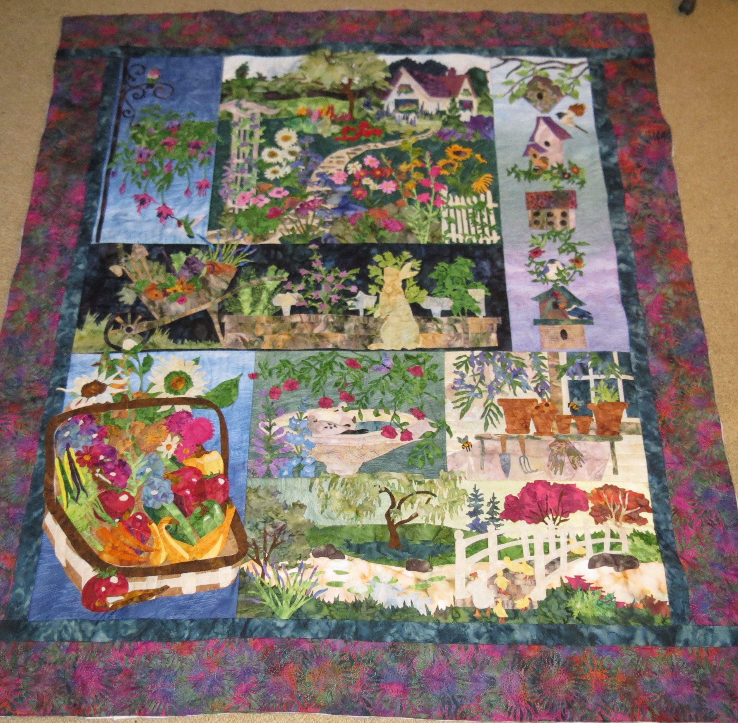 Mckenna Ryan S In Full Bloom Quilt Kits Quilts Bloom