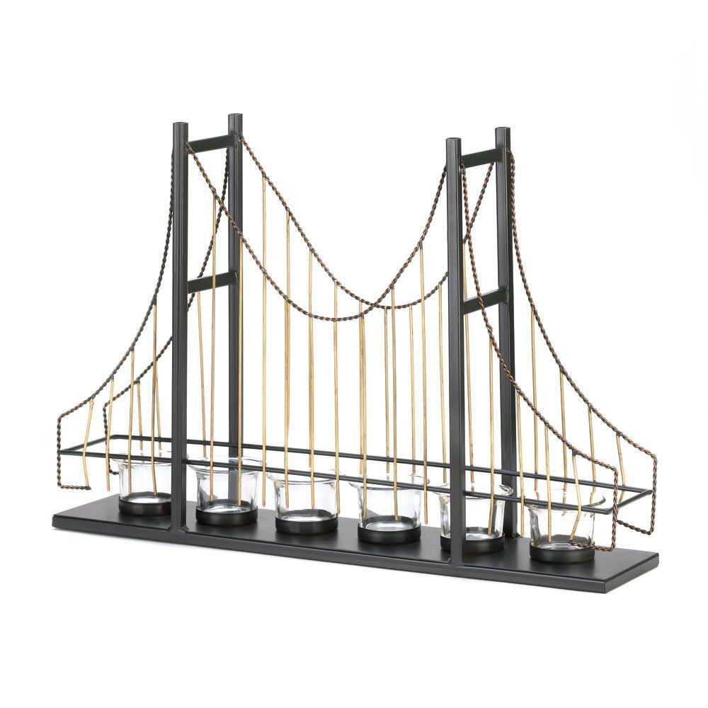 Golden gate bridge candleholder home decor pinterest golden