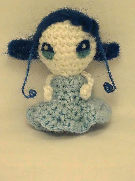Little Fairy Fifi, from Ojamajo Doremi - Free Amigurumi Pattern ...