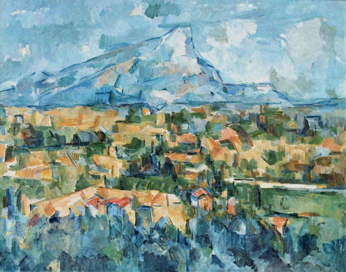 Paul Cezanne Montagne Sainte Victoire 1904 Huile Sur Toile 70