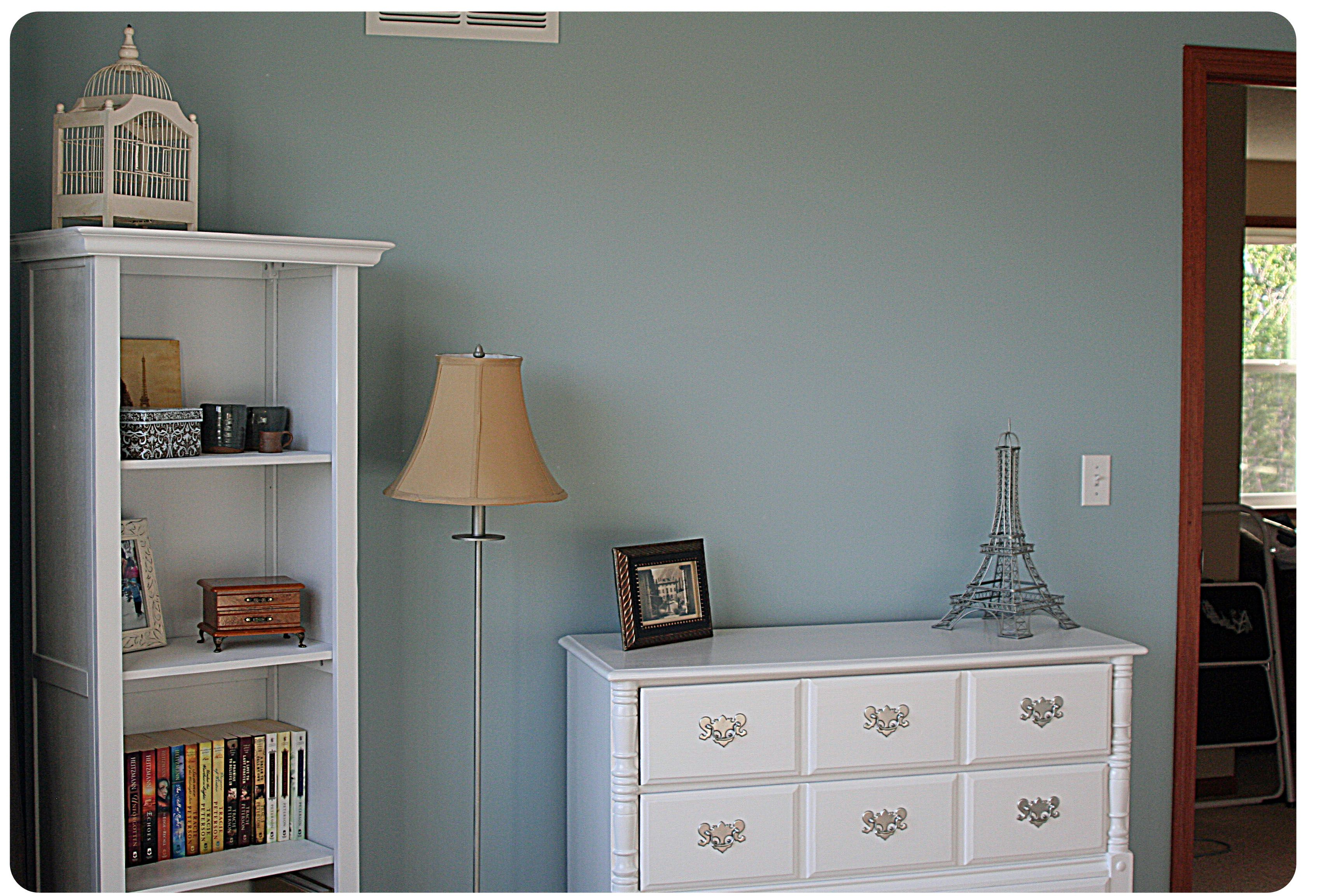 Sherwin Williams Languid Blue Dining room/kitchen Home