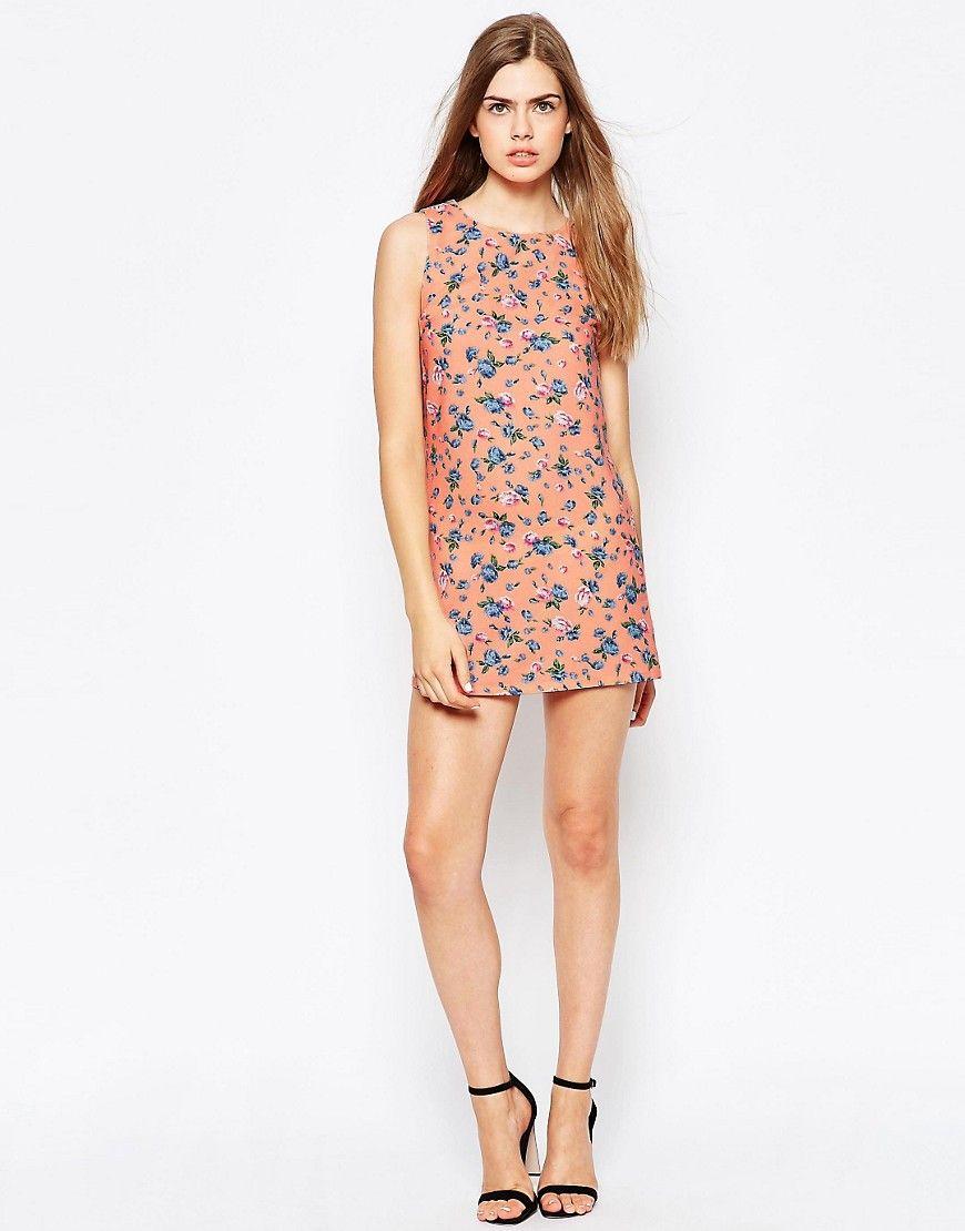 Image 4 - Daisy Street - Robe droite à imprimé floral