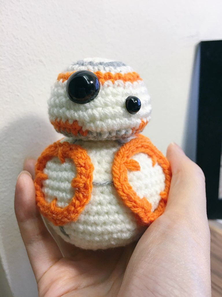 Crochet star wars bb 8 amigurumi pattern the force android crochet star wars bb 8 amigurumi pattern the force android robot bankloansurffo Images