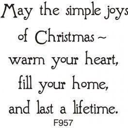 Simple joys of christmas greeting snail mail pinte simple joys of christmas greeting more m4hsunfo
