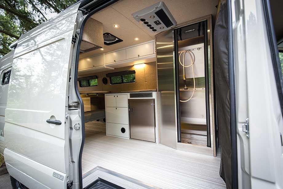 Bespoke Camping Van Brings Luxury To The Outdoors Camper
