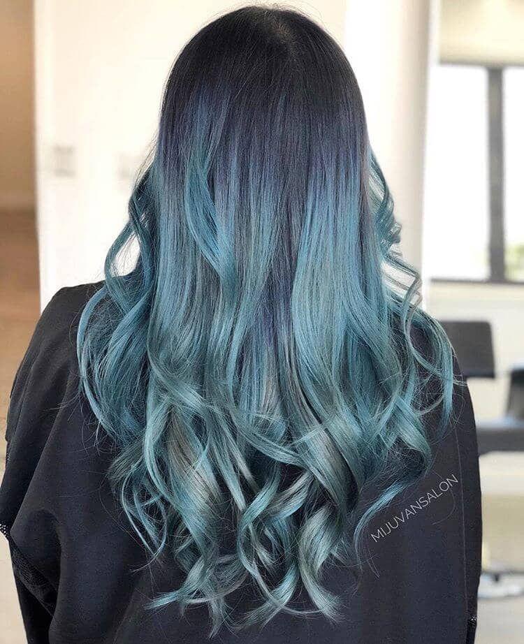 50 Fun Blue Hair Ideas To Become More Adventurous With Your Hair Blonde And Blue Hair Blue Hair Hair Color