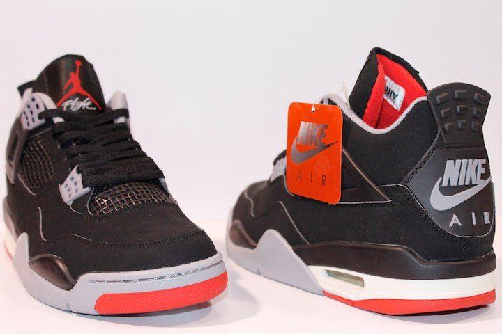 buy popular 2c6eb bffa3 ... retro mens shoes white black cement gre fr606314 f2862 e8ec9  discount air  jordan 4 black cement bred 2017 2ed5f 8006b