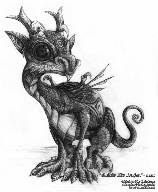 Thalia 39 s little dragon by sythiar on deviantart dragon for Little dragon tattoo