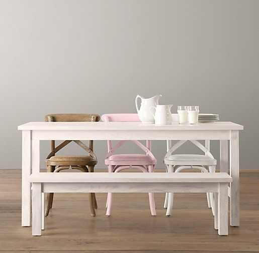 Kids Playroom Table And Chairs cafe play table bench | play tables & chairs | restoration