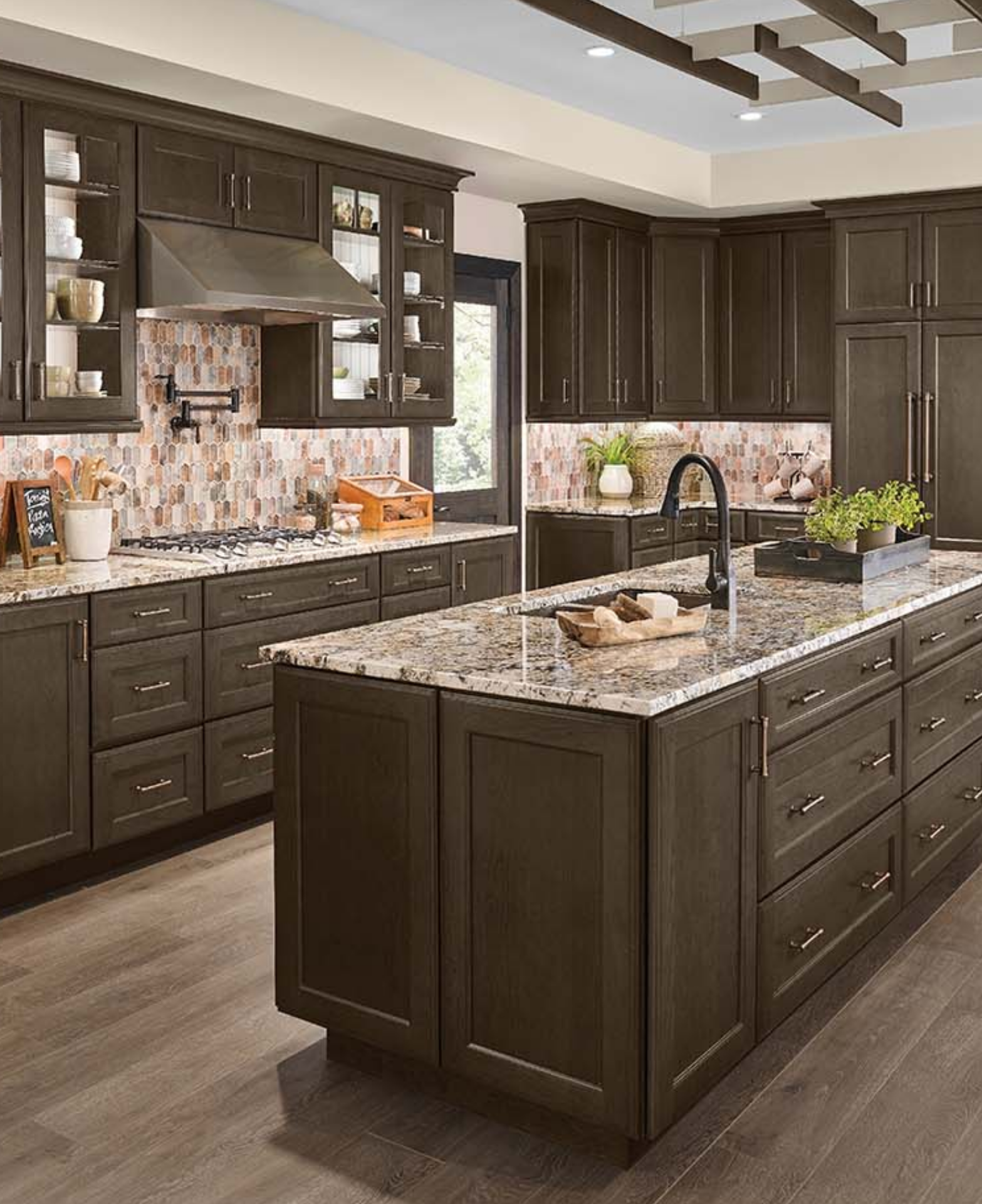 The Masterpiece® Collection Rockwell in Cannon Grey Cherry in 9 ...