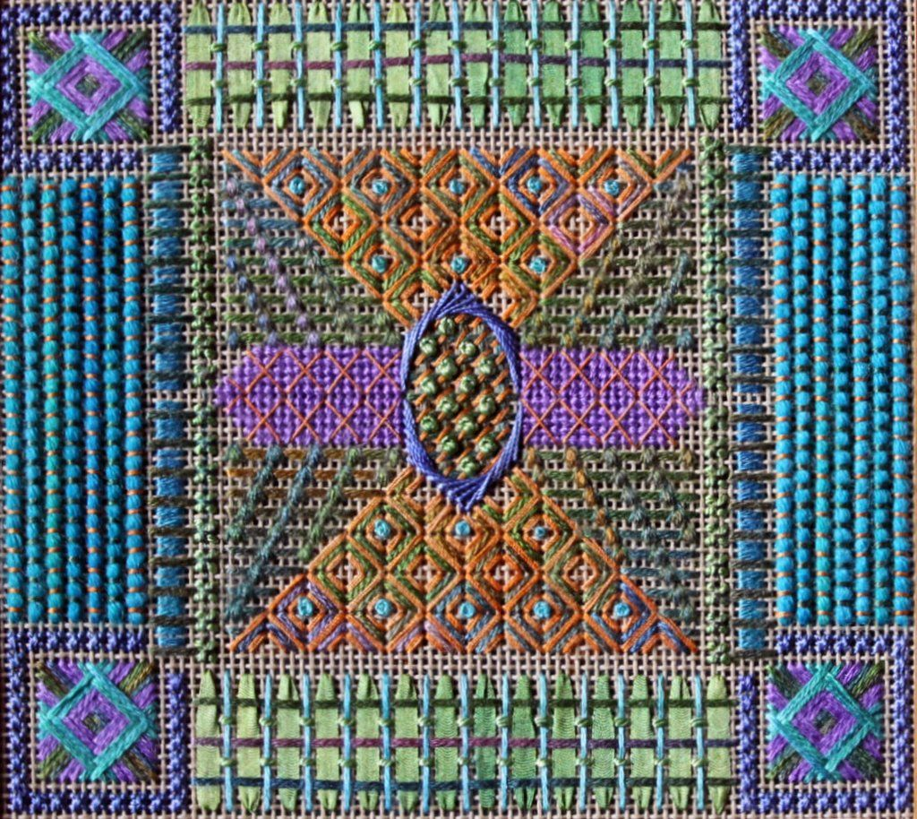 Contemporary Tartan - Needlepoint Kit