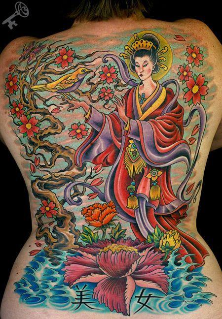 Chris Nunez Geisha Tattoos Google Search Tattoo Geisha