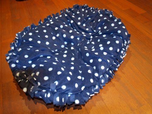 Katzenbett Nähanleitung aus Fleece