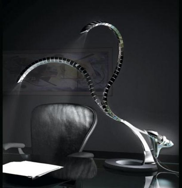 Cool Desk Lamps totally weird more is more ugly lamp!!   creepy   pinterest   more