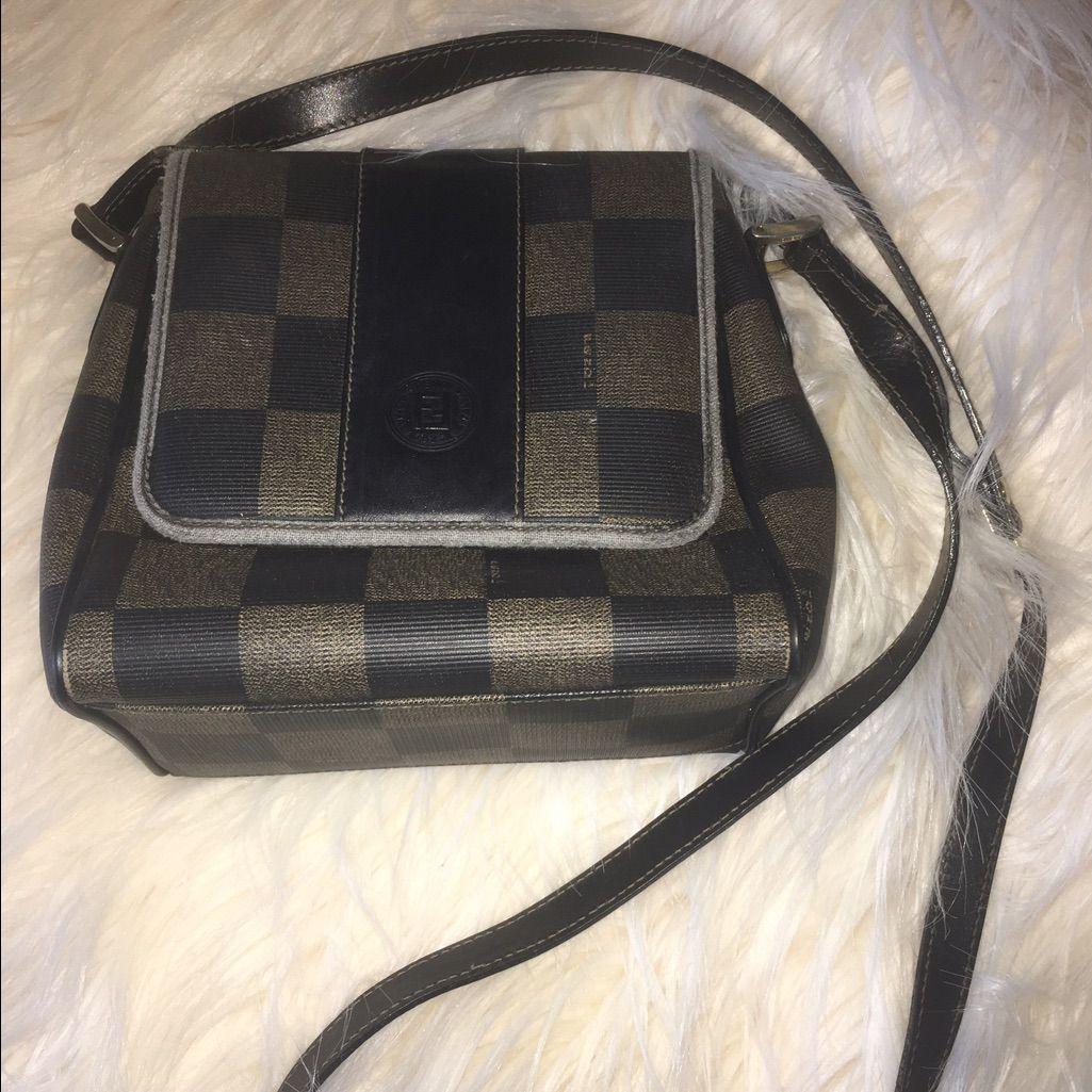 Vintage Fendi Crossbody  61d856d614cb0