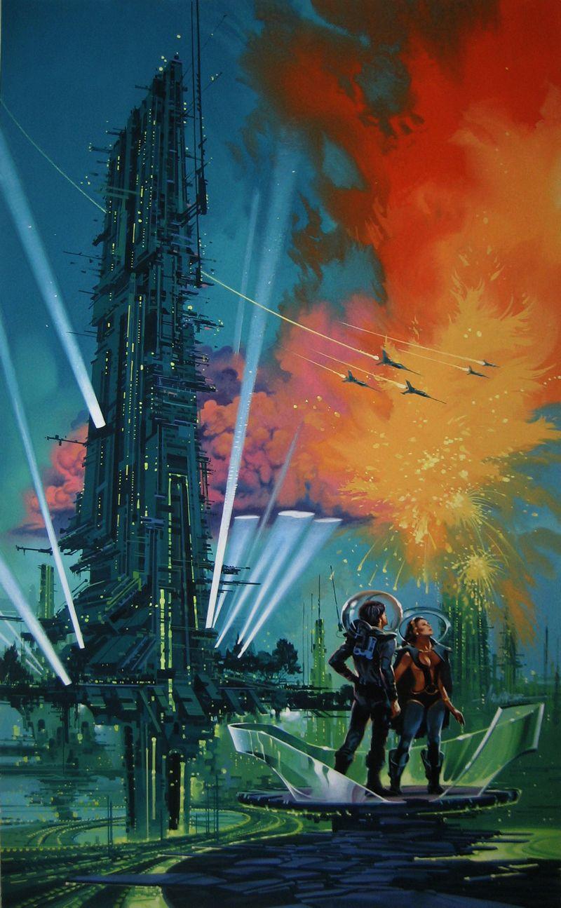 70s Sci-fi Art Ace Retro Skyfy Fantasy In 2019