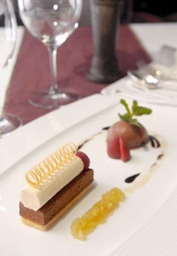 Fine Dining Plated Desserts | Sriwijaya The Multi Texture and Taste of European Dessert | Bakery ...