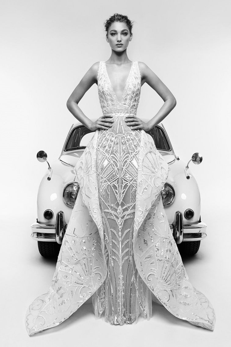 Zuhair Murad Spring 2019 Wedding Dress Collection - Zuhair Murad Spring 2019 Bridal #weddingdress #weddinggown #elegantweddingdress #glamour #bride #bridalgown