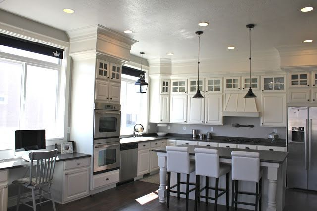 How To Transform Our Kitchen Bulkheads Soffits So That They Blend