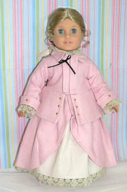 riding outfit for your doll #colonialdolldresses
