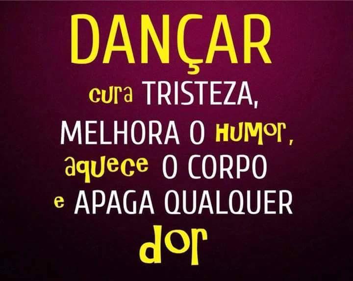 Dança - Quem Dança Seus Males Espanta!!!