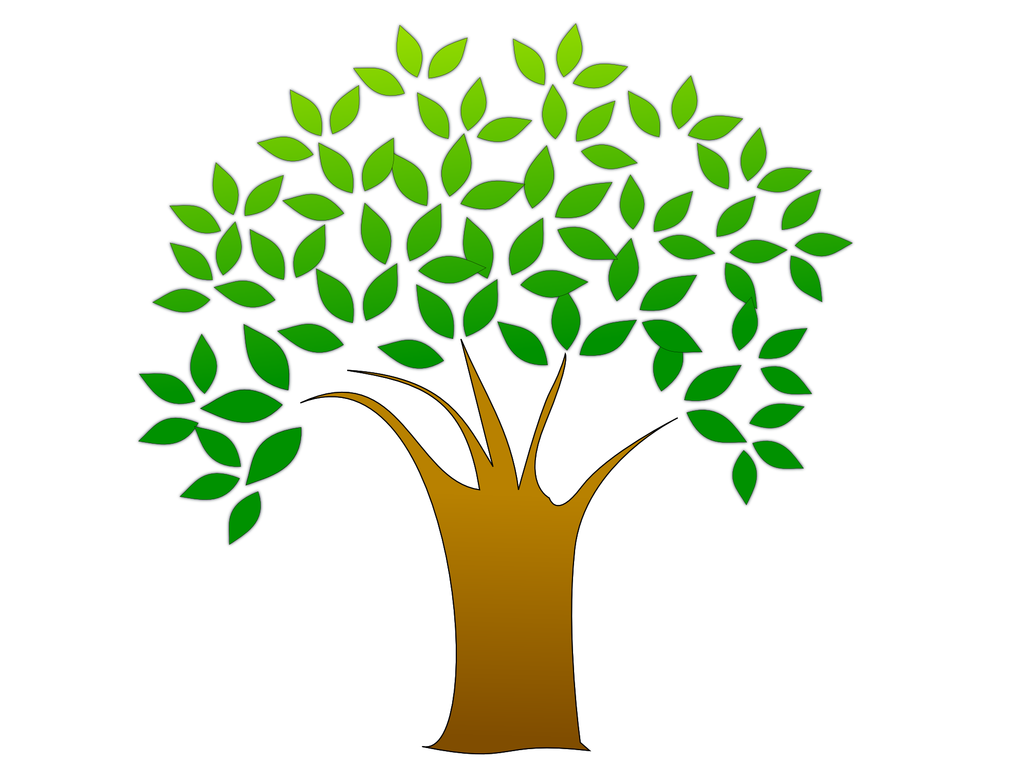 Earth Day Green Tips For Your Business! | Tree clipart, Clip art and ...