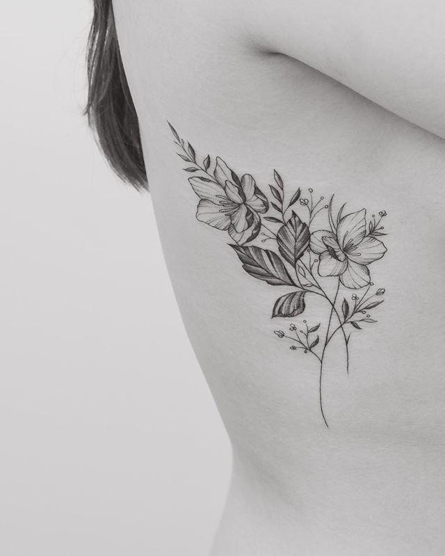 Así Con Las Líneas Finas Y Definidas Tattoo Sin Tatuajes