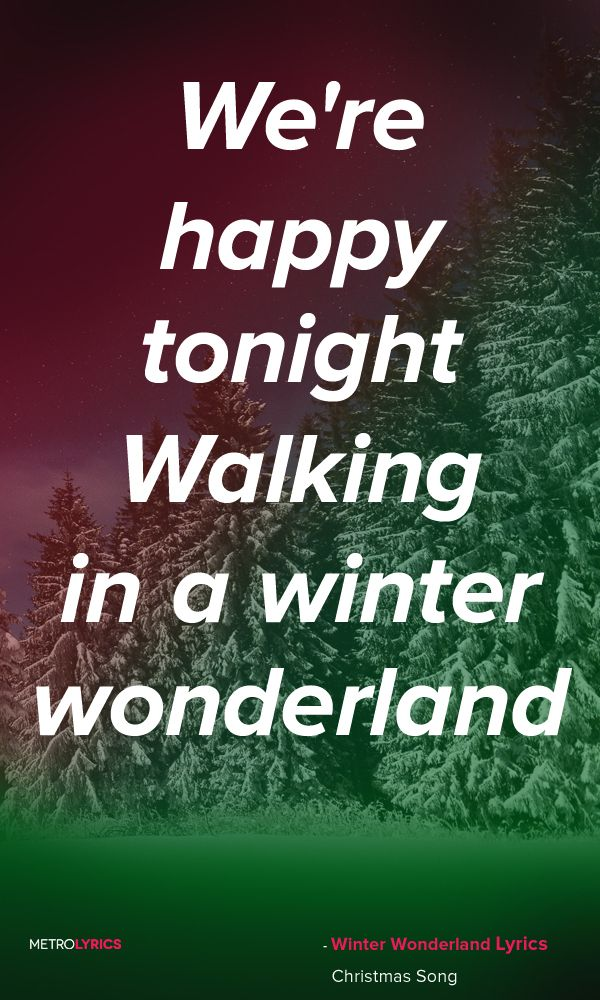 christmas carols winter wonderland lyrics and quotes sleigh bells ring are you listening in the lane snow is glistening a beautiful sight