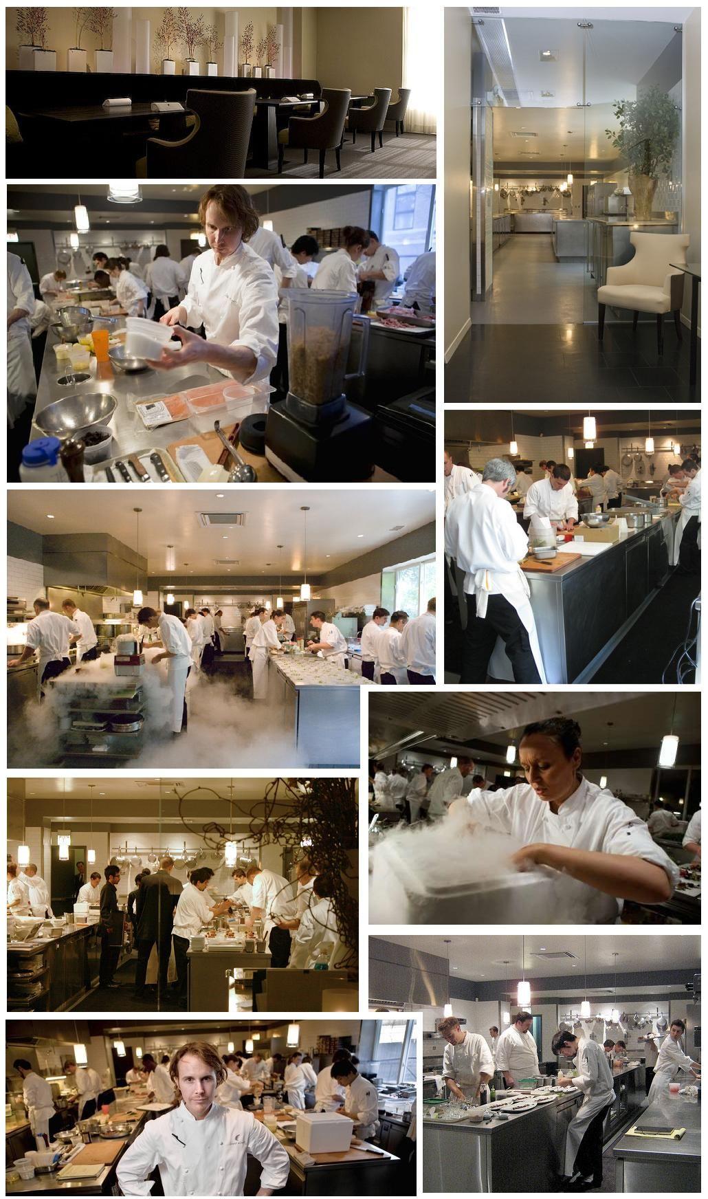 Restaurant kitchen design  Alinea restaurant kitchen  KitchenInside  Pinterest  Restaurant