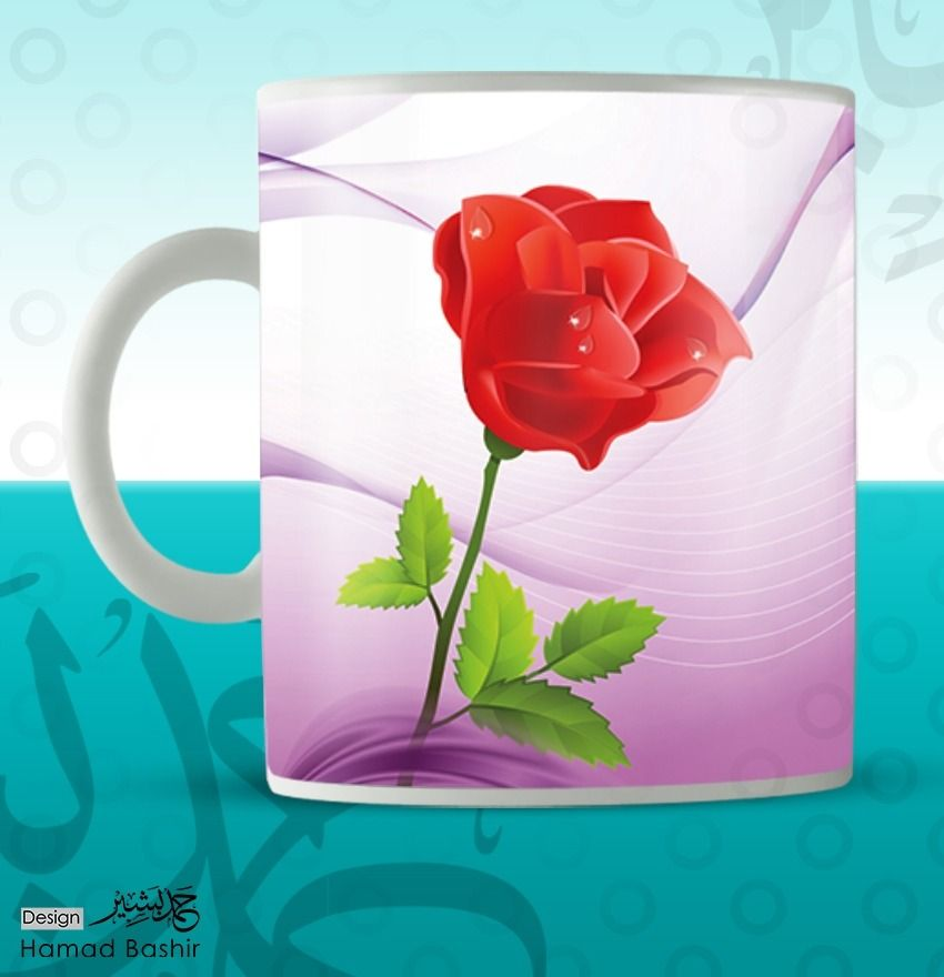 Mug Design Template Psd 085 تصميم مجات Design Template Design Mug Designs
