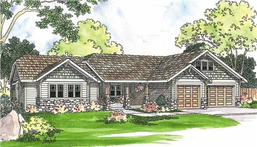 The Pinedale Home Plan Is A Single Story Craftsman Style House Plan With 2481 Total Craftsman Style House Plans Craftsman House Plans Ranch Style House Plans