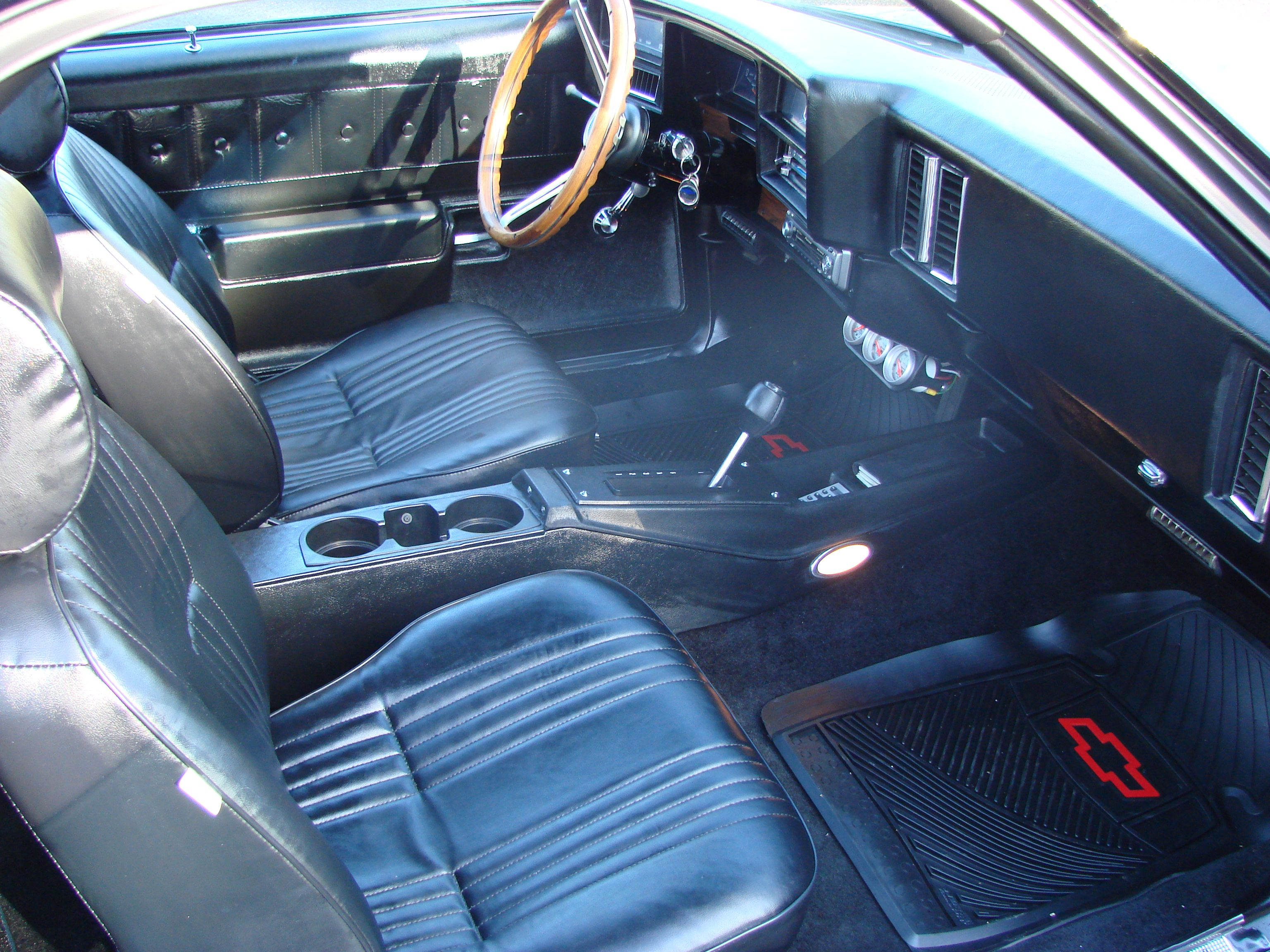 hight resolution of 77 el camino interior