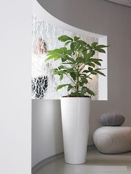 Gloss White Urn Tall Planter Planters Indoor Large Plants