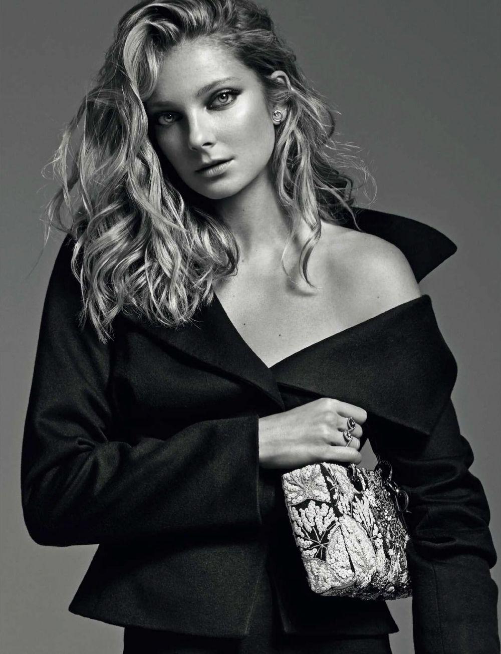 Nuevos Iconos: Eniko Mihalik by Xavi Gordo for Elle Spain September 2016 - Dior Fall 2016