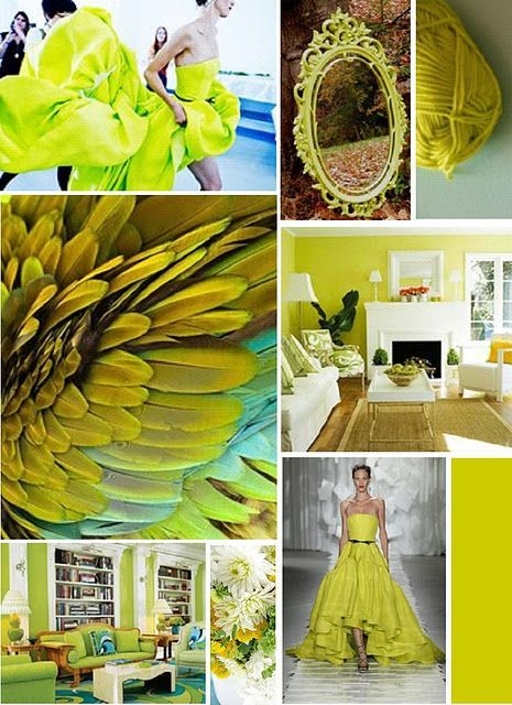 Inspirationen in chartreuse kerstin tomancok farb typ for Farben gruntone