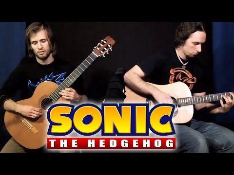 Sonic The Hedgehog Medley Super Guitar Bros Youtube Sonic The Hedgehog Video Game Music Guitar