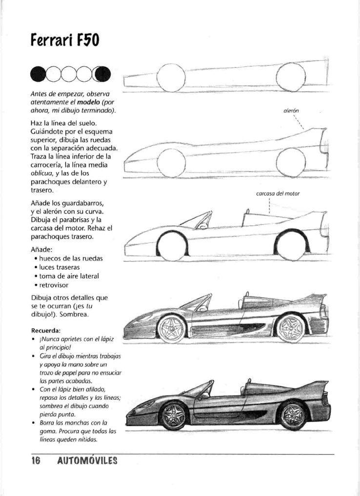 Dibujar Cotxes I Altres A Motor Dibuixar Fàcil Pas A Pas
