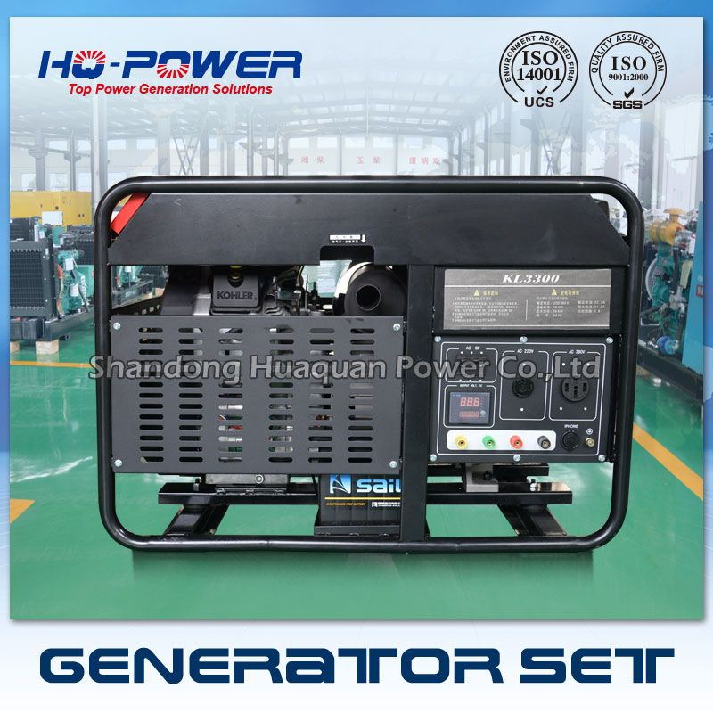 wholesale portable 15kw small 240v generators made in china