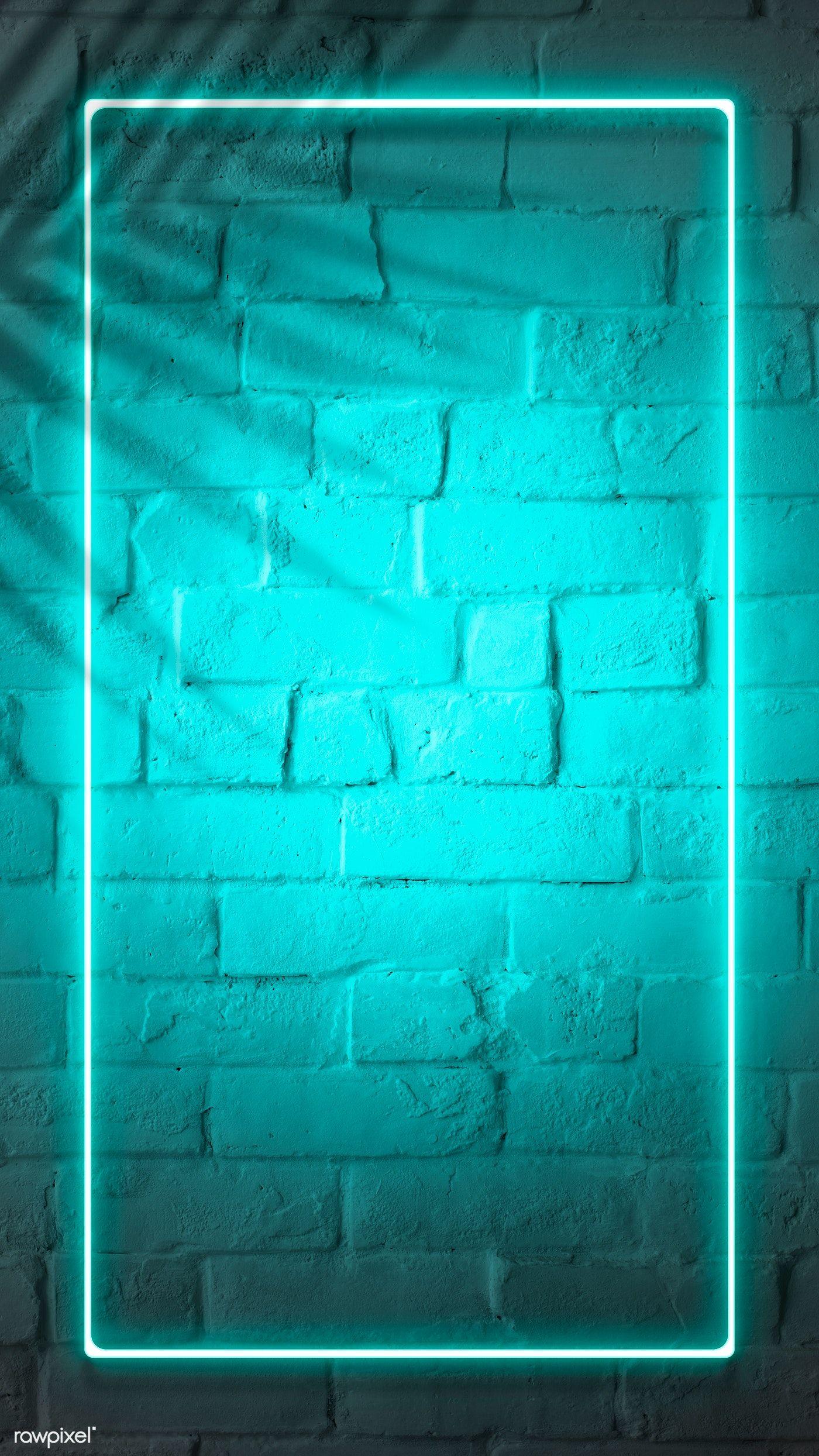Download Premium Illustration Of Tropical Green Neon Lights Phone Screen Neon Wallpaper Neon Light Wallpaper Neon Backgrounds
