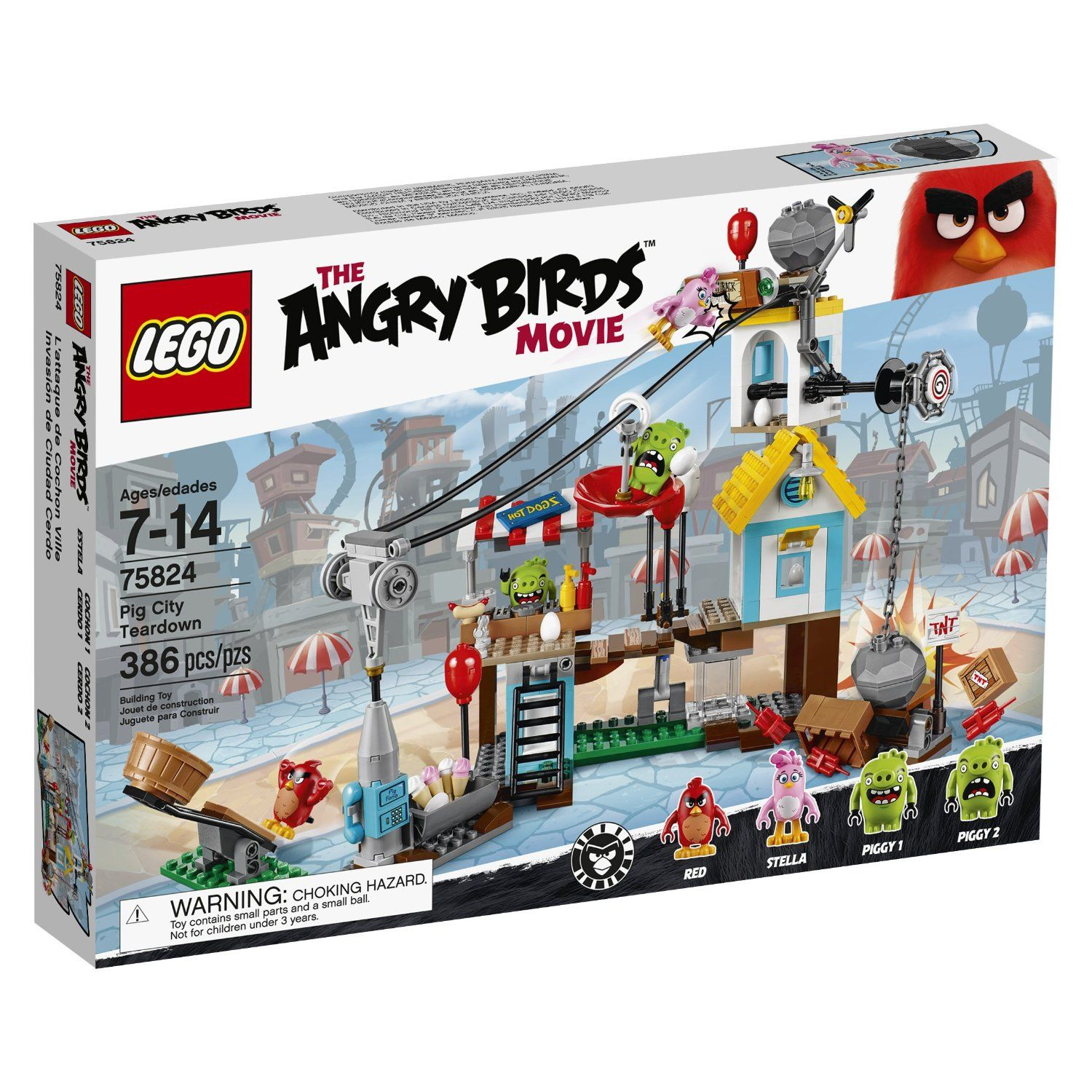 For tucker lego angry birds 75824 pig city